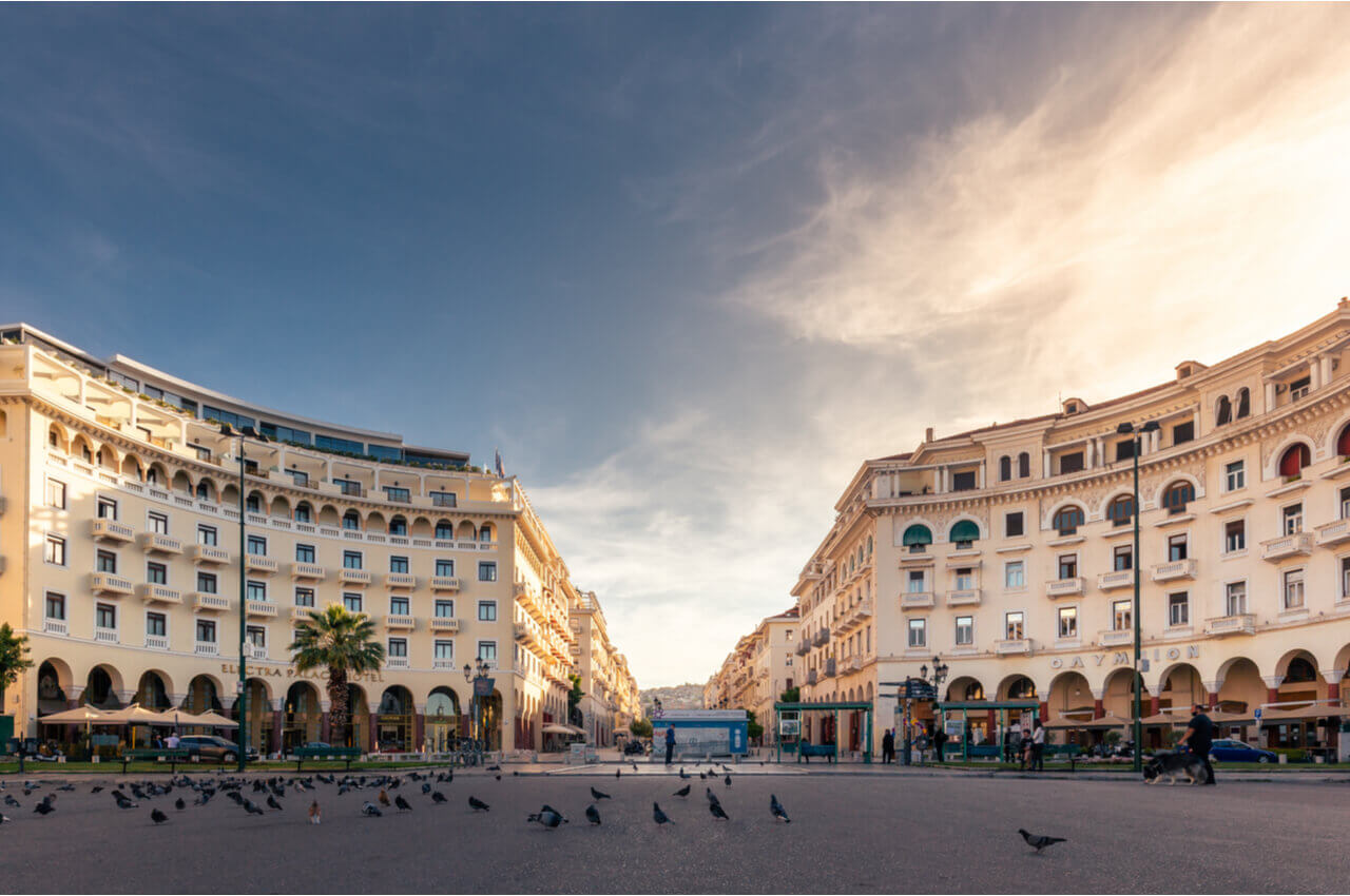 4 Sights of Thessaloniki That You Must Visit After Your Arriva-Take a tour on Aristotelous Square-Alpharive Rent a car