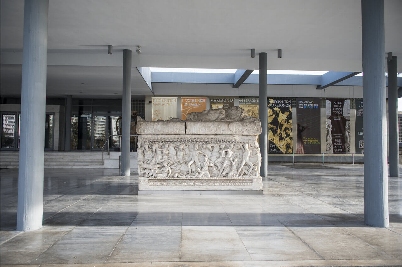 4 Sights of Thessaloniki That You Must Visit After Your Arrival-A visit to the treasures of the Archaeological Museum of Thessaloniki-Alpharive Rent a car